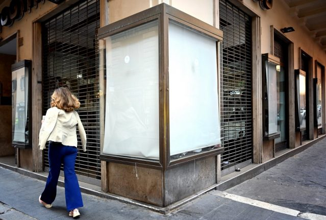 'We mustn't bow to violence': Italy's Covid-hit businesses battle to resist mafia