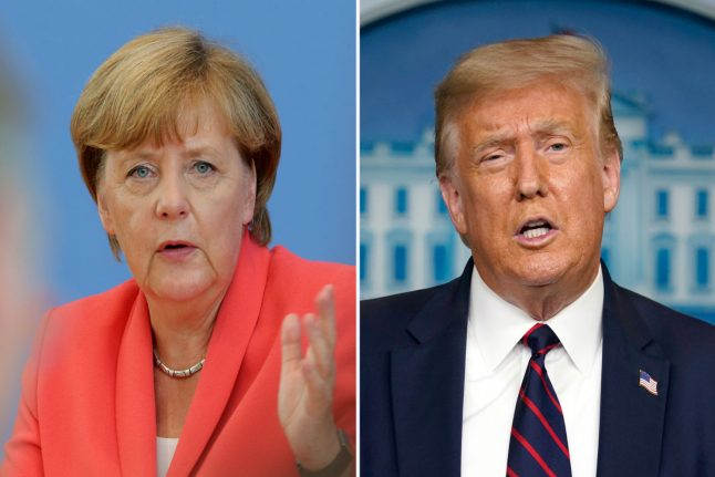 German-US alliance 'on life support' after four years of Trump