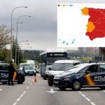 UPDATED MAP: These are the regions of Spain with closed borders