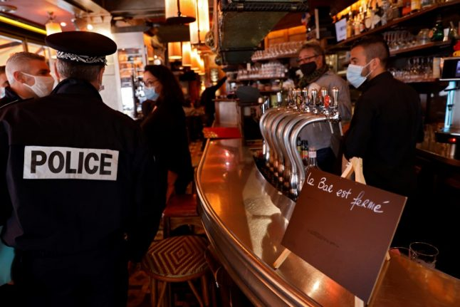 Takeaways and 4pm happy hour: How French restaurants are coping with curfew