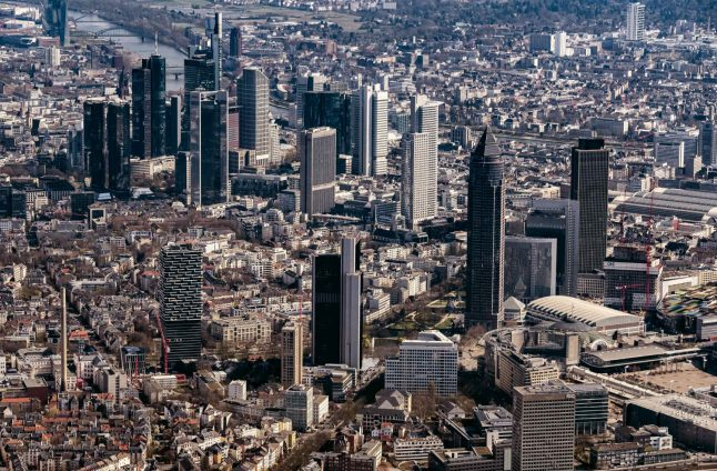 Pandemic to 'cut thousands of banking jobs' in Frankfurt