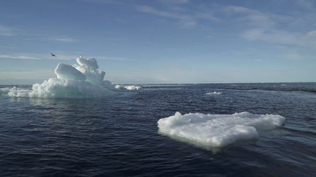 Danish researchers find Arctic sea ice at record low October levels