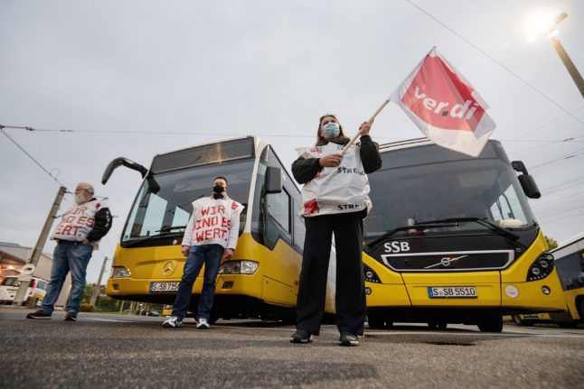 More commuter chaos expected during all-day Berlin strike