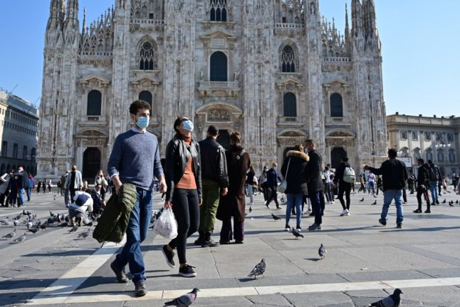 UPDATE: Italy's Lombardy and Campania regions to impose Covid-19 evening curfew