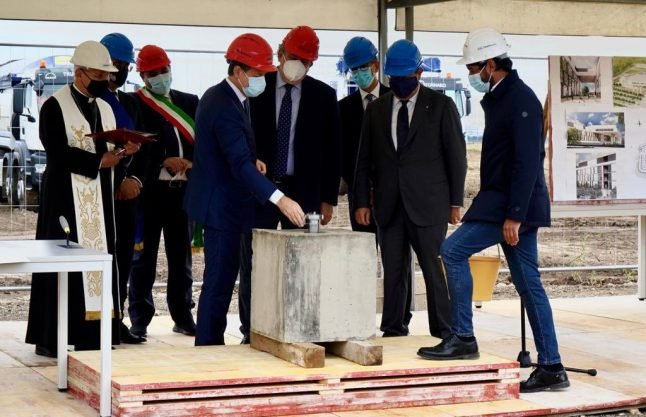 'We have to do it quickly': Italy aims to complete new southern hospital in under 400 days