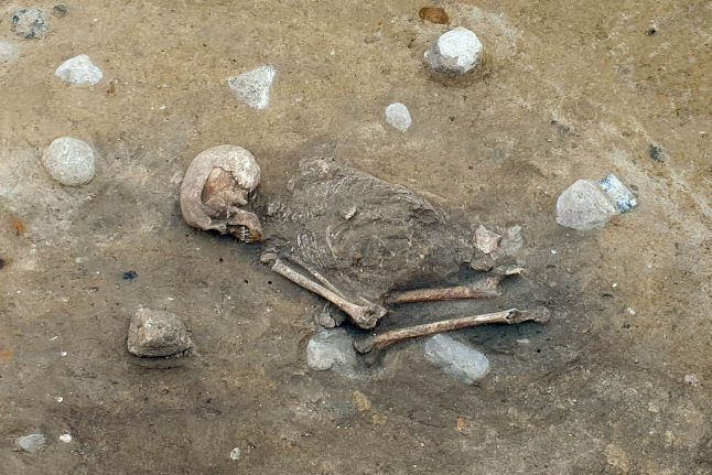 5,000 year-old German skeleton find reveals ancient diet and lifestyle