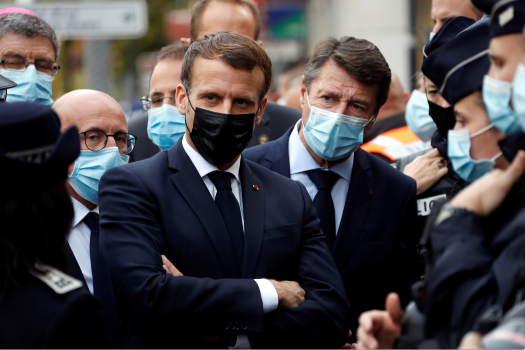 Macron faces defining moment as he takes on two crises at once