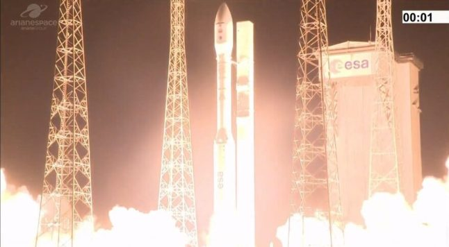Wire mix up blamed for failure of Spain's first rocket launch mission