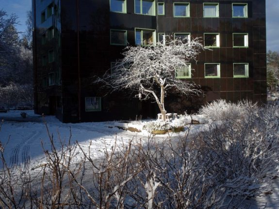 The story behind a 1960s high-rise turned 'passive house' in Gothenburg