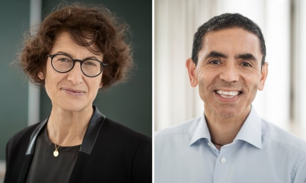The German husband-and-wife team behind the breakthrough Covid-19 vaccine