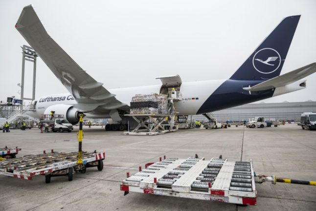 German airport prepares to transport millions of Covid vaccines
