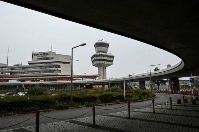 Former Berlin Tegel airport gets new life as Covid-19 vaccination centre