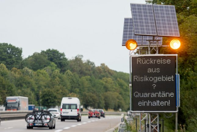 Germany introduces new quarantine and testing rules for travellers from risk zones