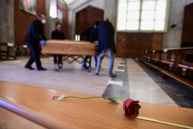 Italy records highest annual death toll since second world war
