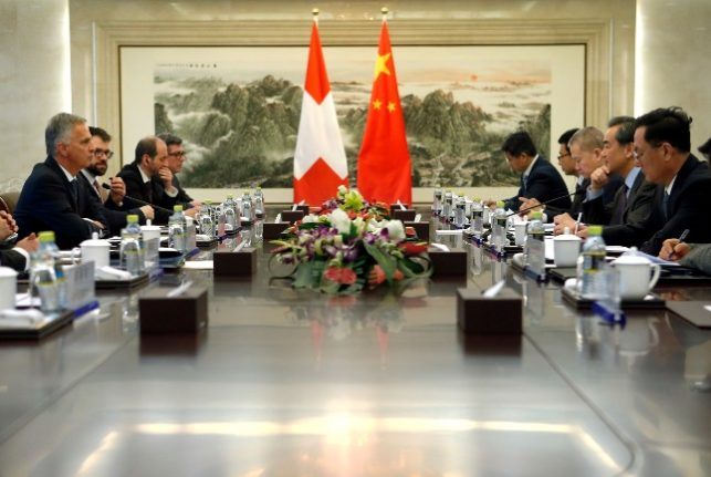 Swiss claim China deal posed no threat to dissidents