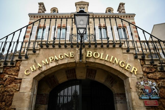 'The English are resilient': Champagne houses toast Brexit deal