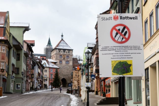 State by state: What are Germany's rules for New Year's Eve?