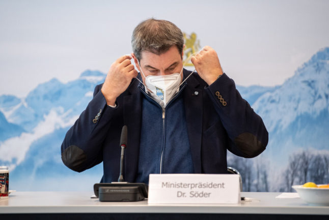 Bavaria to move into tougher lockdown ahead of Christmas