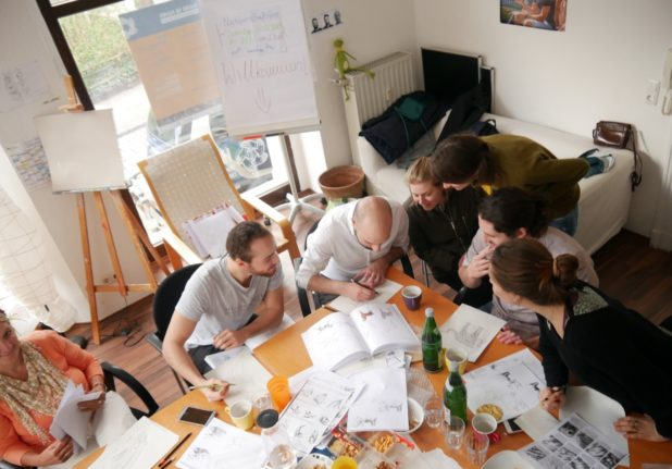 How a German project uses shared interests to bring refugees and locals together