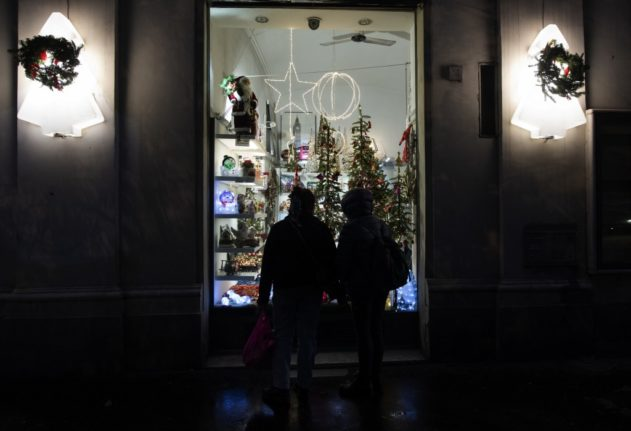 Italy launches 'Christmas cashback' scheme in push for digital payments