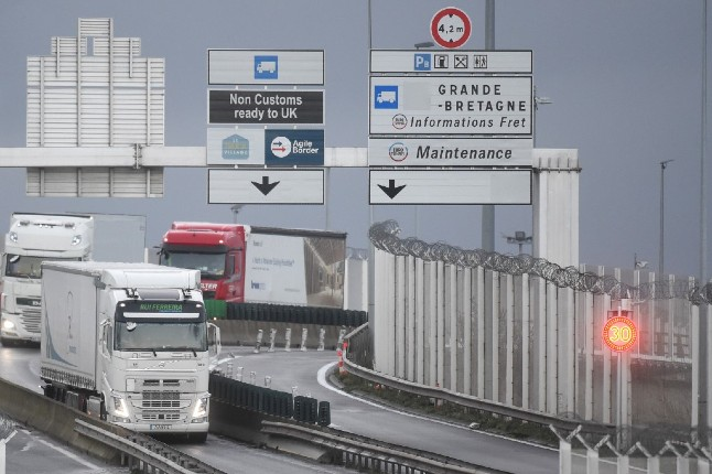 Channel logjam 'over by Saturday' as truckers arrive in Calais