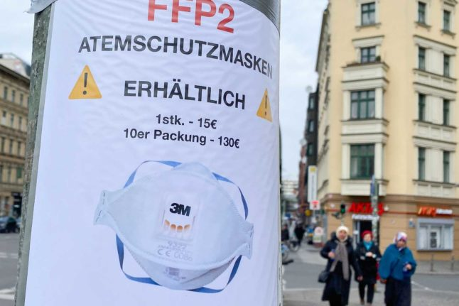 UPDATED: How much will mandatory FFP2 masks cost in Austria?