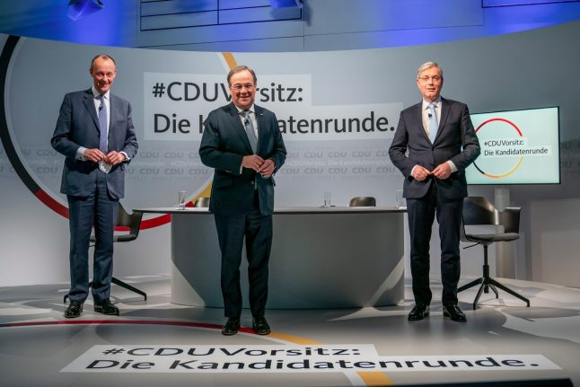 CDU leader vote: Who are the three men vying to succeed Merkel?