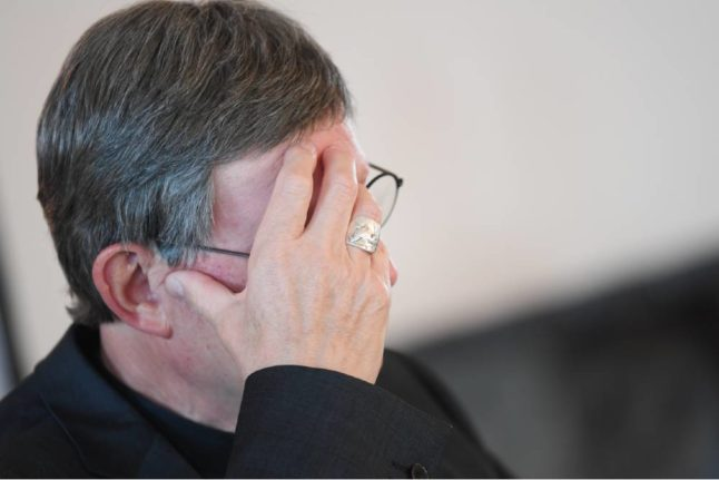 Tensions mount in German Catholic Church over abuse report