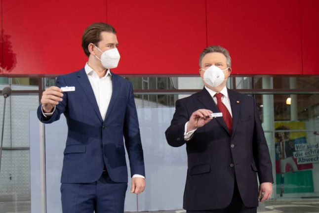 Austria: Anyone who tests positive for coronavirus must now report it to authorities