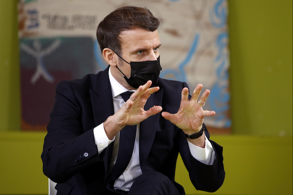 French President Macron says France's laws on child sex abuse must change