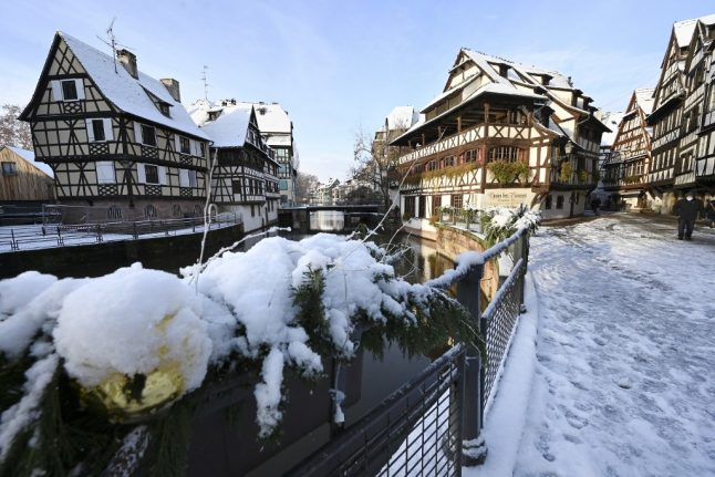 IN PICTURES: North east France blanketed in snow