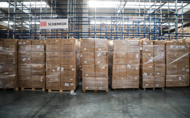 German logistics firm DB Schenker stops UK shipments over Brexit red tape