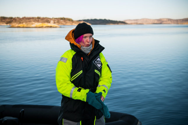 How a Swedish film festival is offering a nurse downtime during pandemic