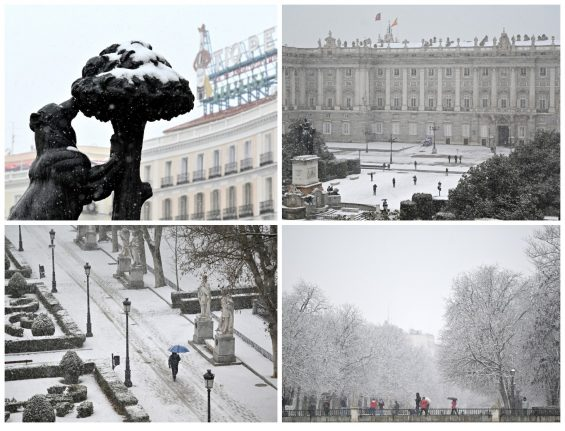 IN PICS: Madrid transformed into winter wonderland with heaviest snowfall in decades