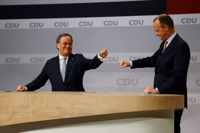 Who is the new head of Germany's conservative CDU party?