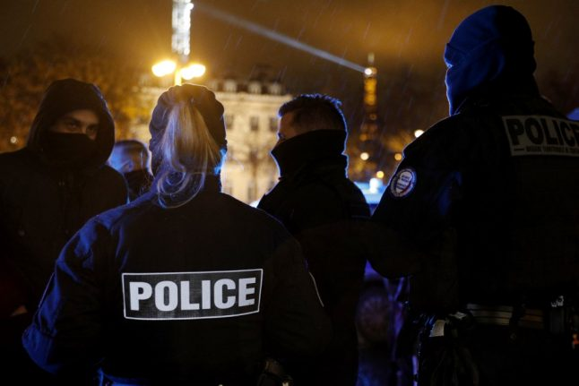 French police chief suspended over 'racist' New Year card