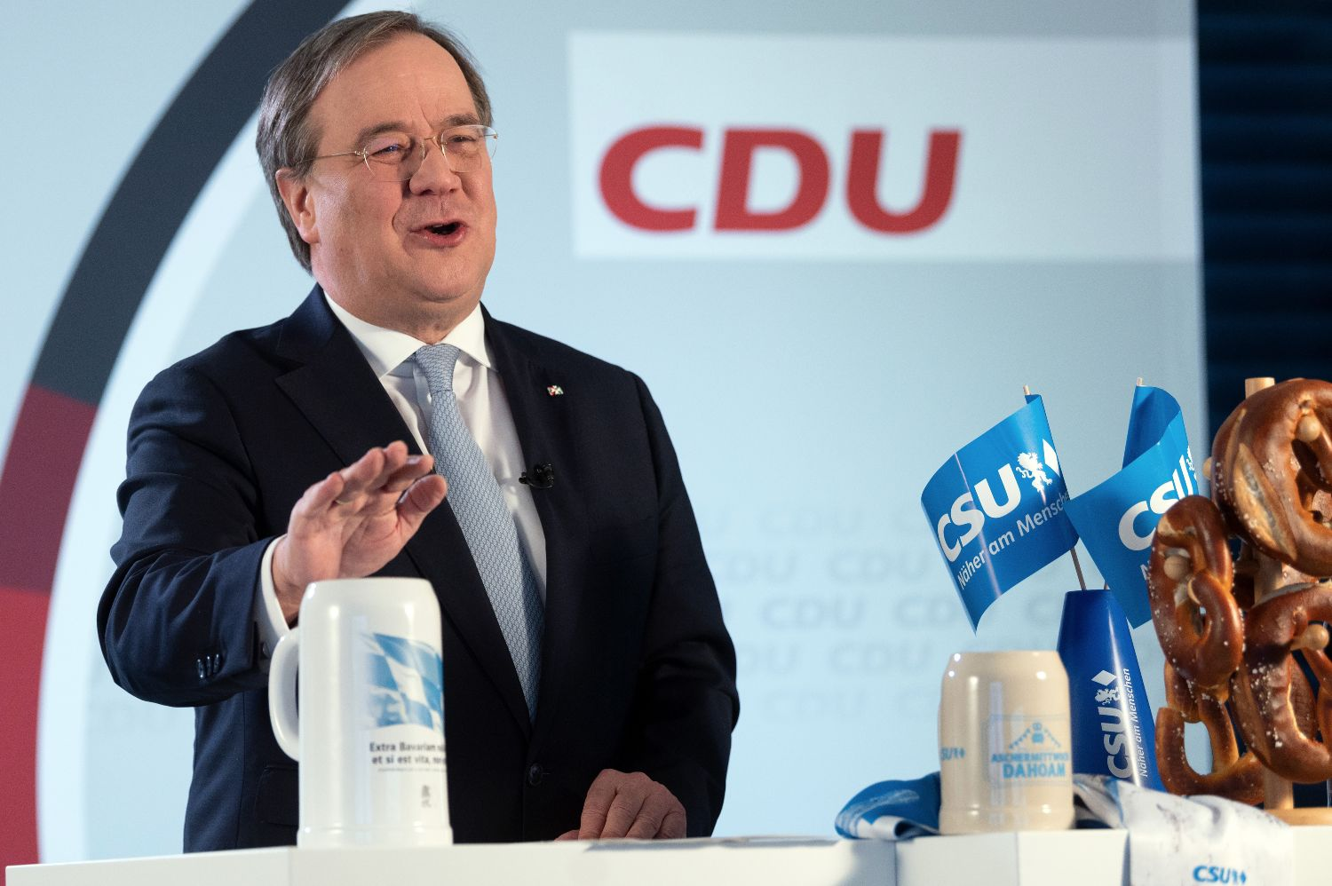 New head of Merkel's CDU under fire for pandemic comments