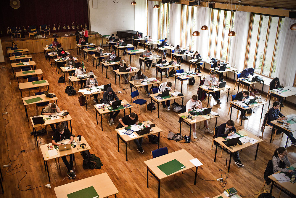 Denmark reduces number of school exams due to Covid-19