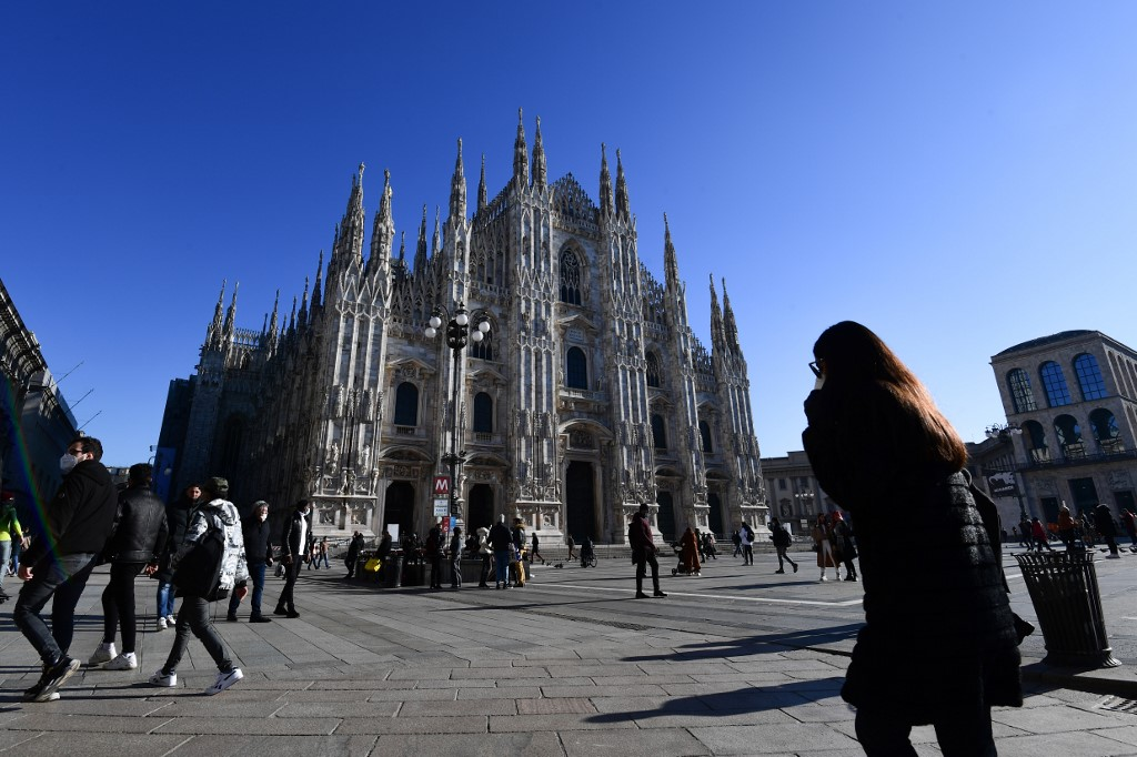 What changes about life in Italy in February 2021?