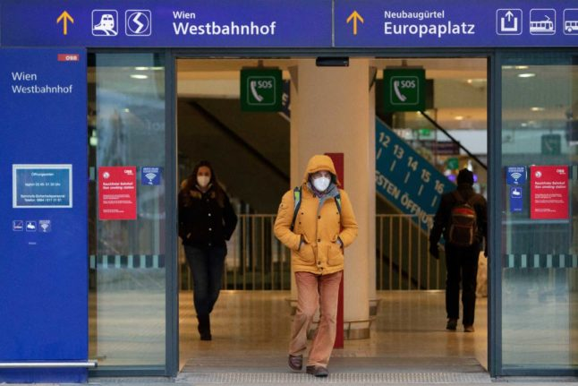 UPDATED: FFP2 masks now required in some outdoor areas in Austria