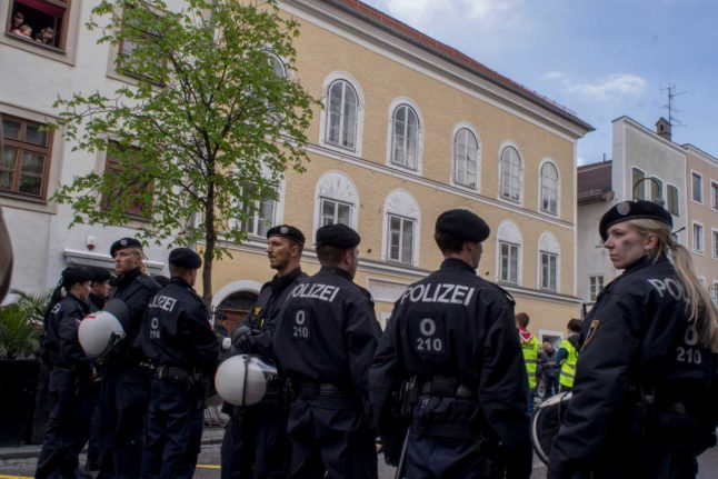 Austrian rapper arrested over neo-Nazi songs