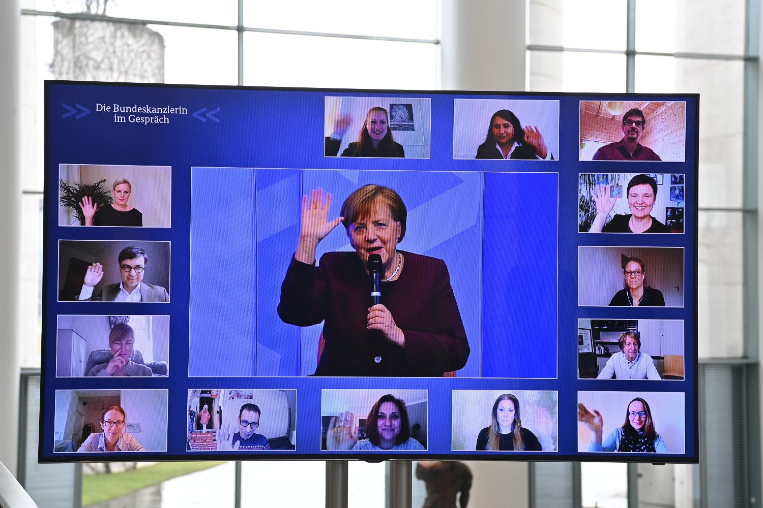 Merkel assures parents that schools and Kitas will be first to open after shutdown
