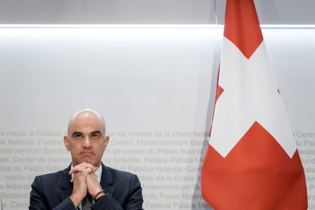 Swiss Health Minister: 'No relaxation of coronavirus measures in February'