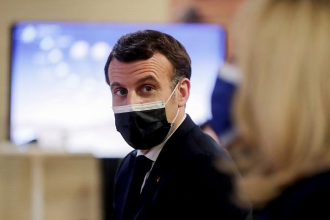 Macron proposes that rich countries transfer 3-5 percent of vaccine stocks to Africa