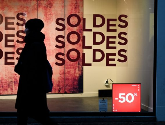 France extends its winter sales as shops struggle with impact of 6pm curfew