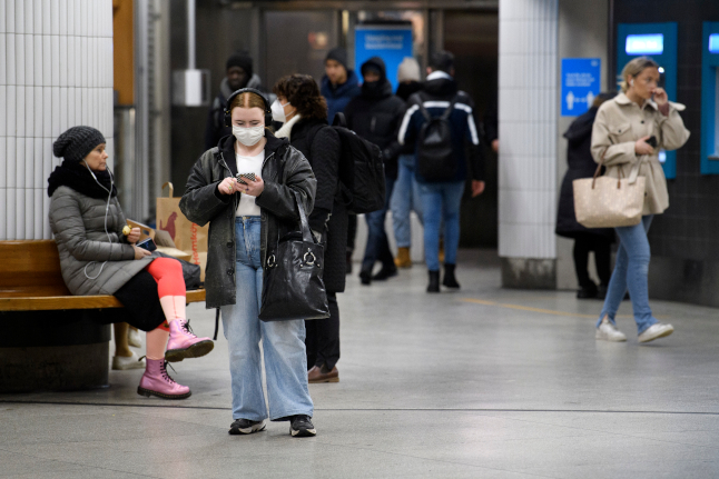 Stockholm's warning: Travel only if you have to – and wear a mask