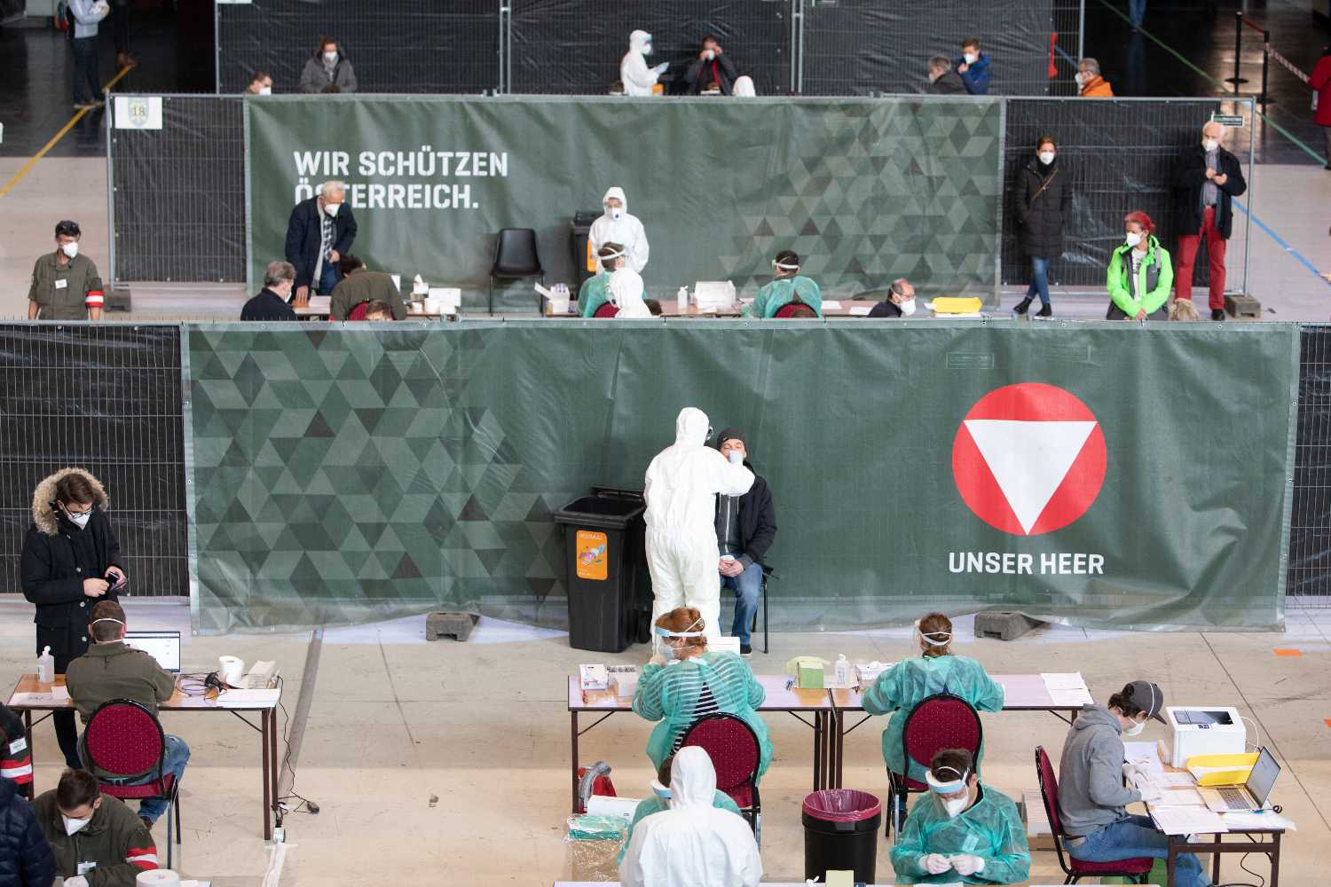 'Three million tests a week': Has Austria got the right Covid strategy?