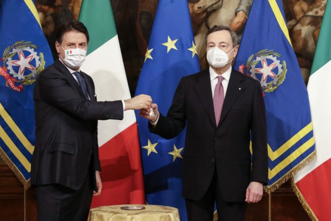 Mario Draghi sworn in as Italy's prime minister