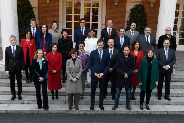 Female ministers are now the majority as Spanish PM reshuffles cabinet