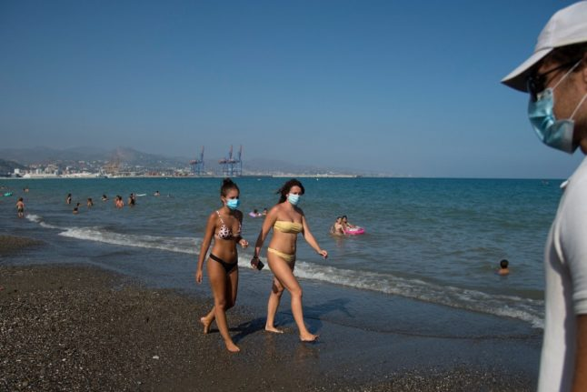 Spain to require public to wear face masks outdoors at all times